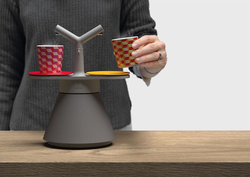 Dual-Headed Espresso Makers