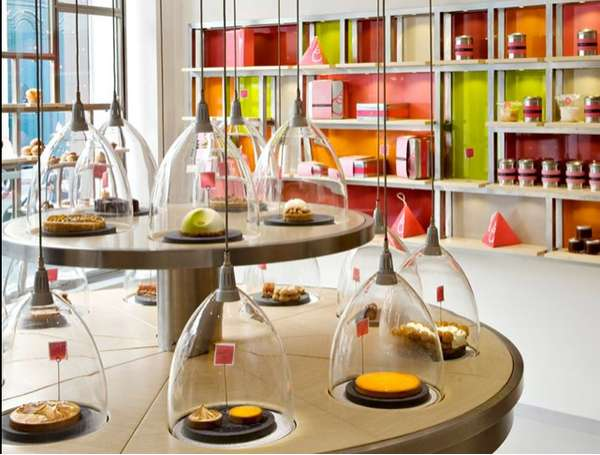 Futuristic Parisian Bakeries