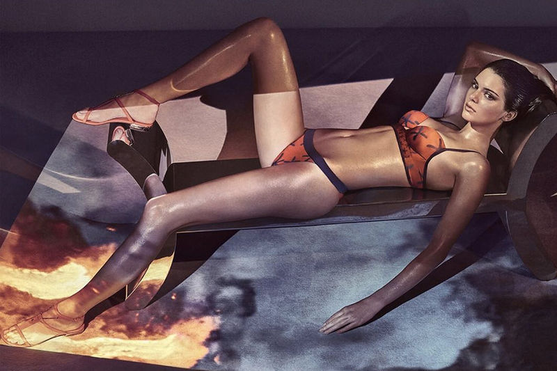 Boudoir-Inspired Lingerie Campaigns