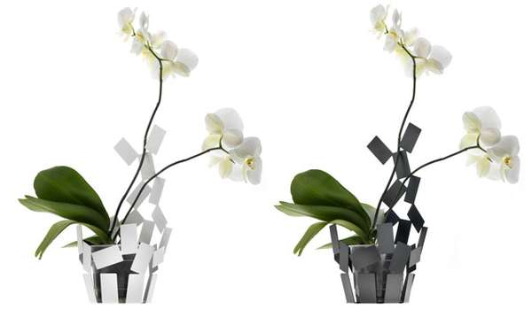 Pixelated Plant Pots