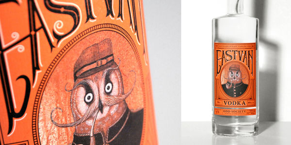 Vintage Owl-Inspired Packaging