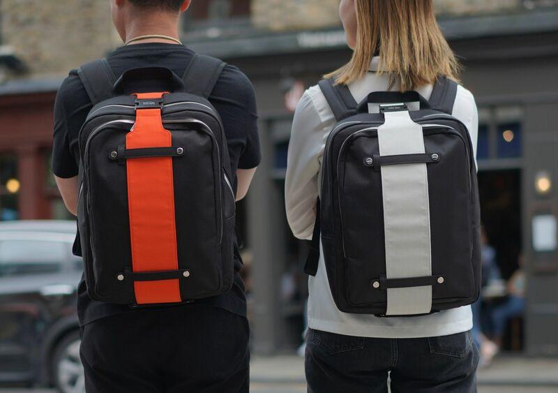 Organics-Infused Plastic Backpacks