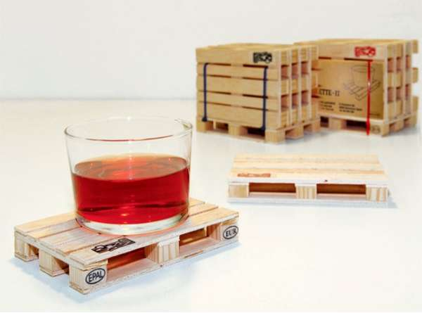 Wooden Crate Coasters