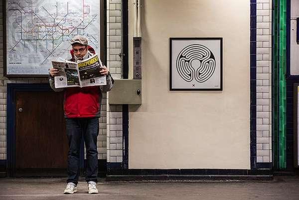 London Underground Art Installations
