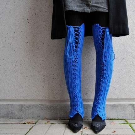 Limb-Crocheted Corsets