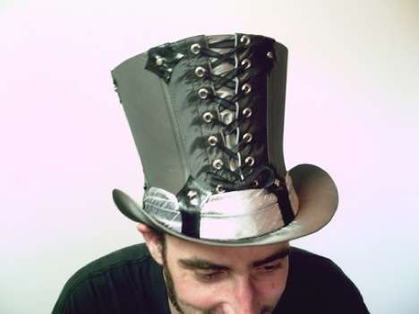 Lace-Up Top Hats