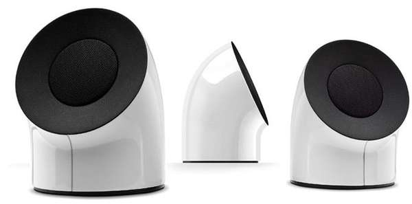 LaCie Unveils First FireWire Speakers