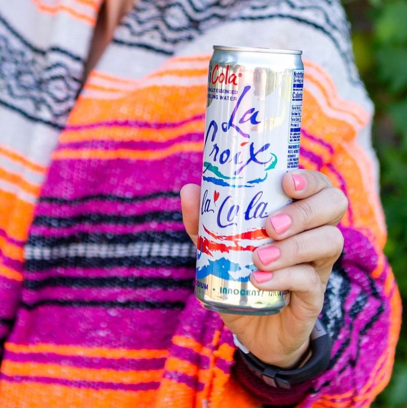 Cola-Flavored Sparkling Water