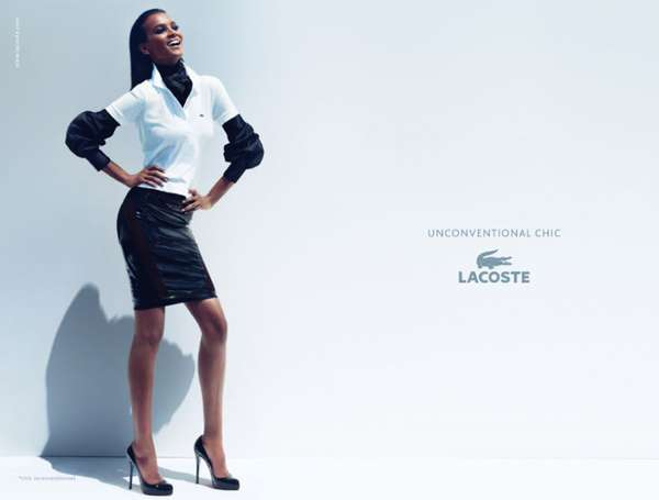 Chic-Casual Fashion Ads