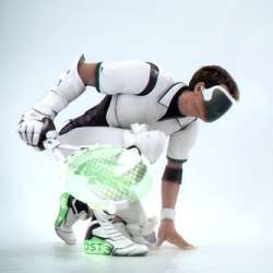 Futuristic Tennis Gear