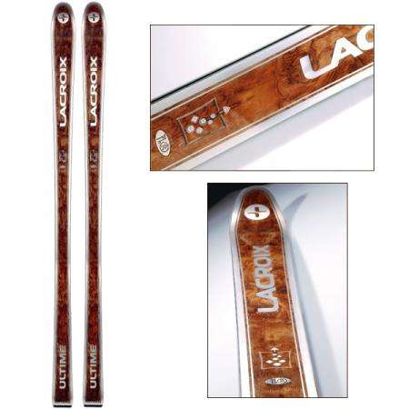Diamond and Gold Skis