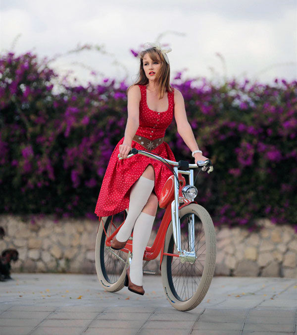 Fashionable Chic Vintage Bikes