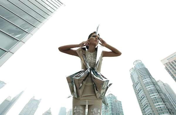 Crystalized Futuristic Photo Shoots