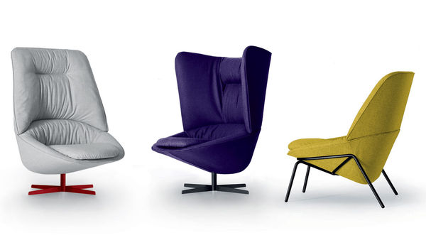 Spoon-Shaped Armchairs