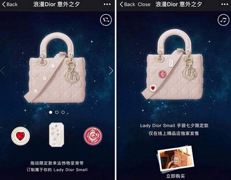 In-App Handbag Sales