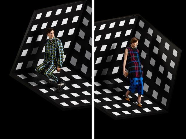 Illusionary Op Art Advertorials