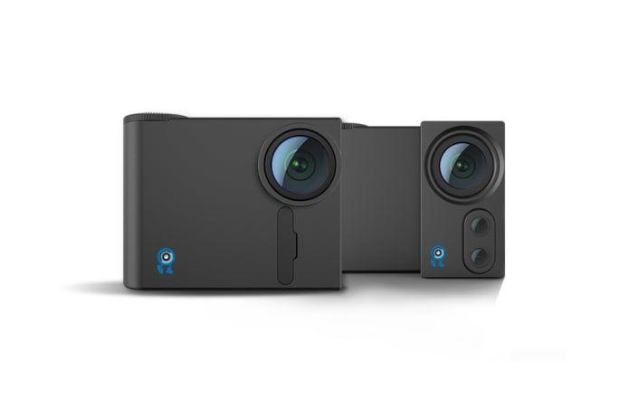 Modular Action Cameras