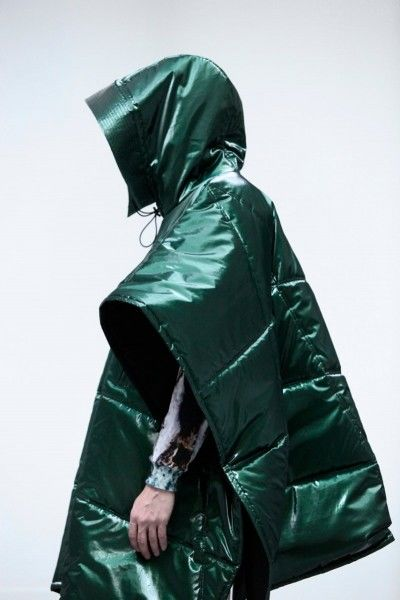 Space-Age Rain Gear