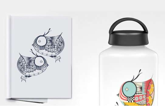 Creative Illustrated Canteens