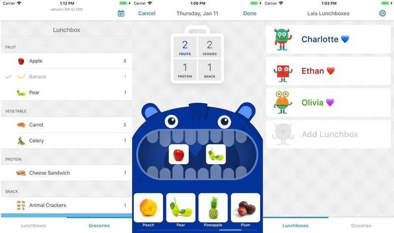 Kid-Empowering Lunch Apps