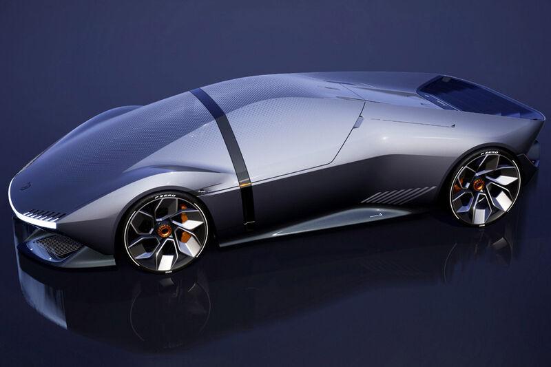 Futuristic Electric Sports Cars