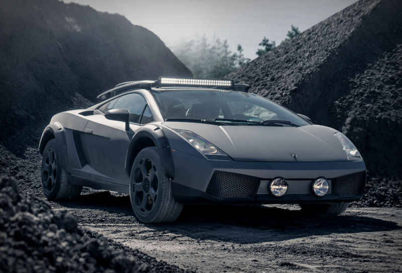 Well-Equipped Off-Road Supercars