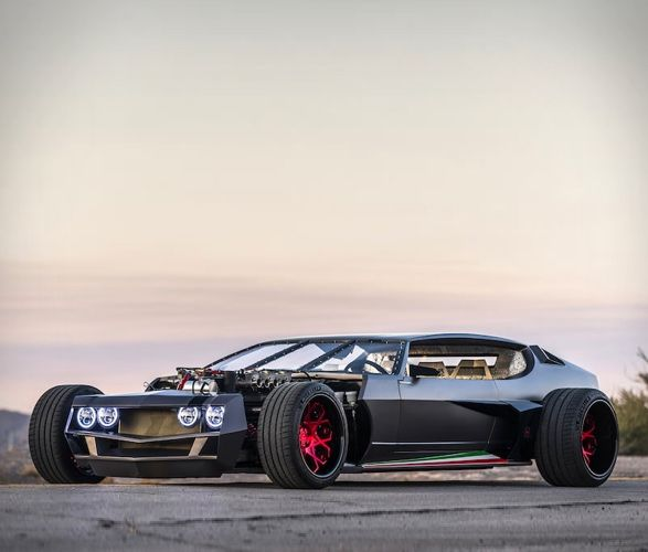 Hot Rod-Inspired Supercars