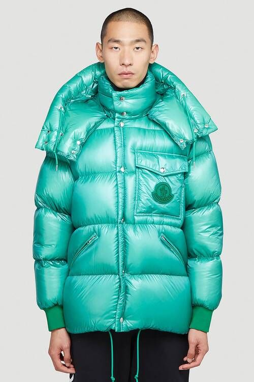 High-Shine Luxe Down Jackets