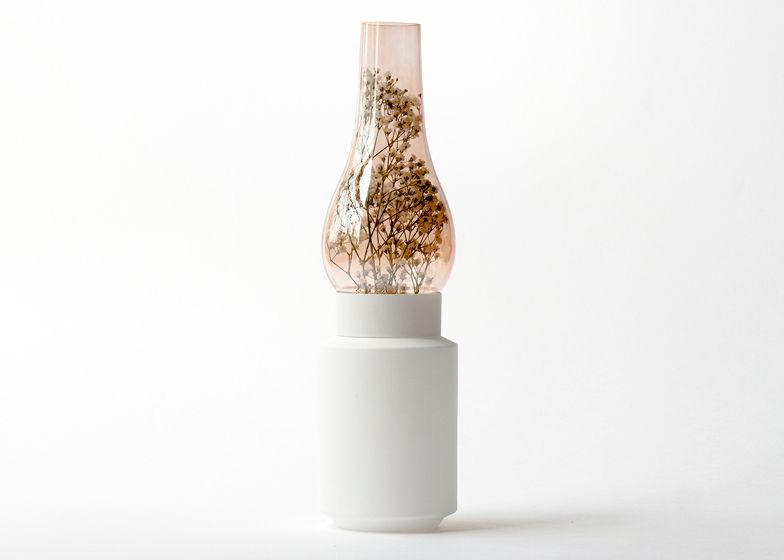 Paraffin Lamp Vases