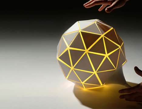Growing Lamps: The Lampad'air Lamp Balloons with Brightness