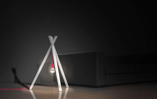 Bonfire-Inspired Lighting