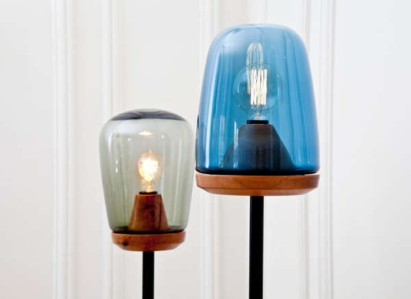 Neo-Retro Glass-Blown Lighting