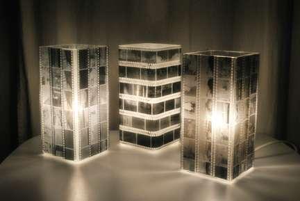 DIY Film Furniture : lamps, DIY, Ikea, Photo, light, negatives, Gronto