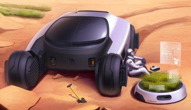 Terraforming Mission Vehicles