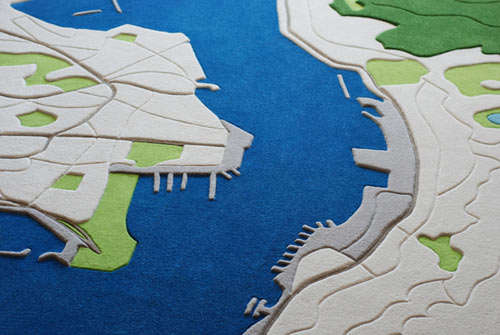 Chinese Landscape-Inspired Rugs