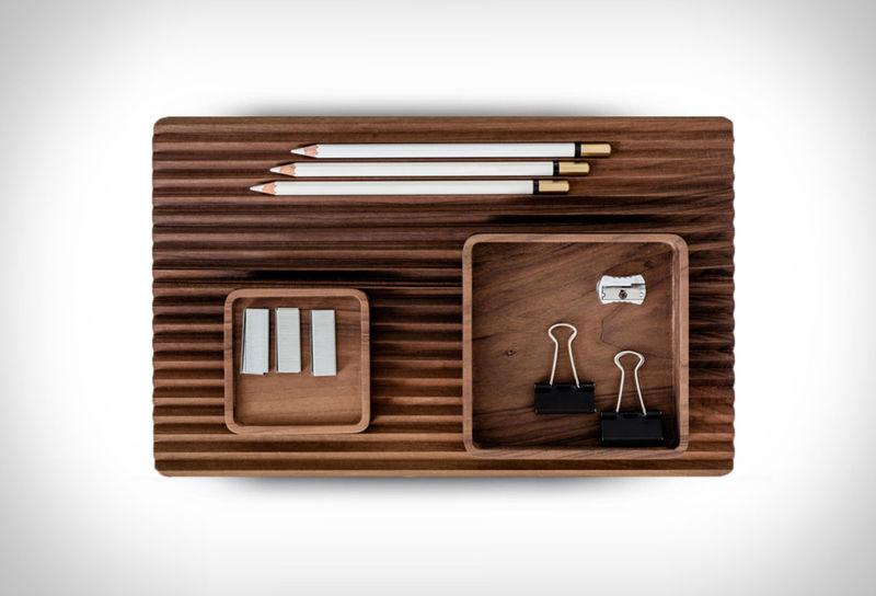 Combinational Wooden Desk Organizers