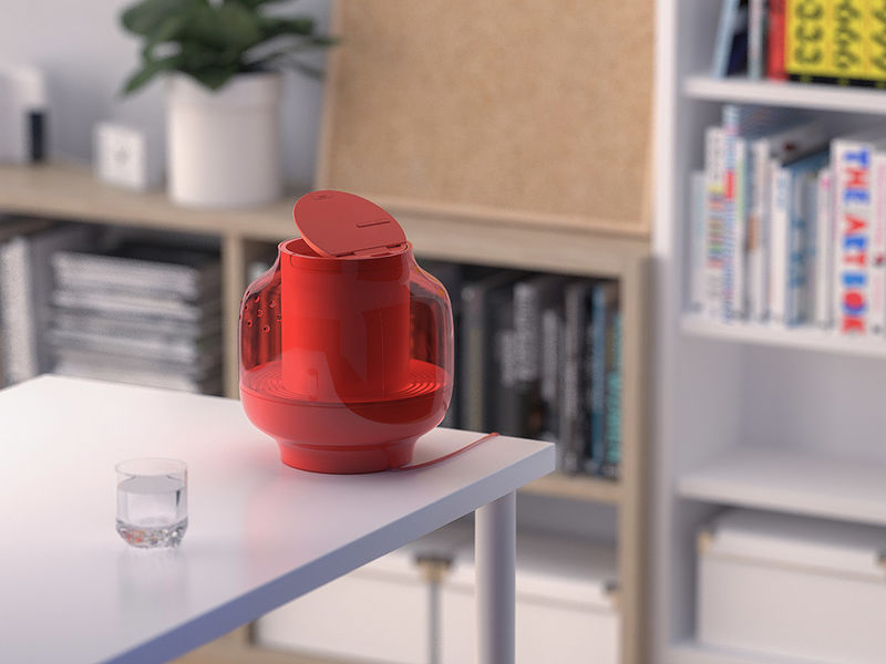Lantern-Like Home Humidifiers
