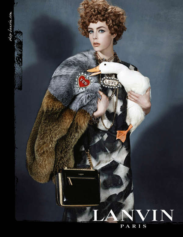 60s-Inspired Diva Fashion Ads