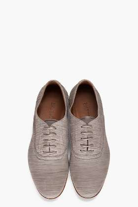 Old-Style Oxfords