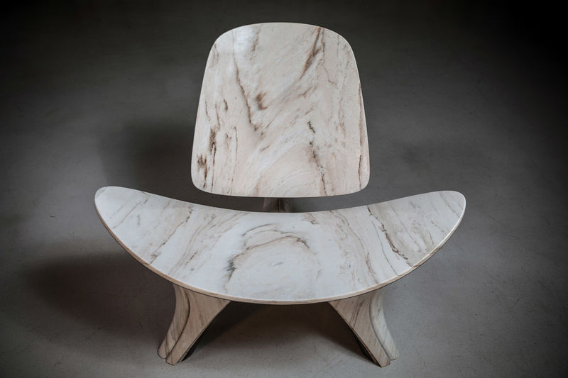 Reimagined Stone Chairs