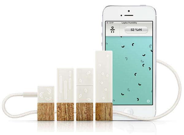 Environment-Monitoring Smartphone Gadgets