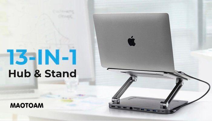 Ergonomic Laptop Connectivity Stands