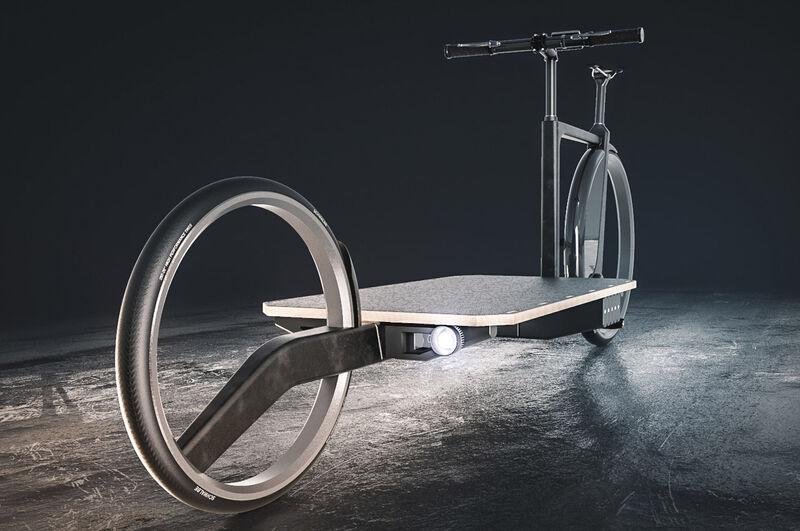 Electric Urban Cargo Bikes