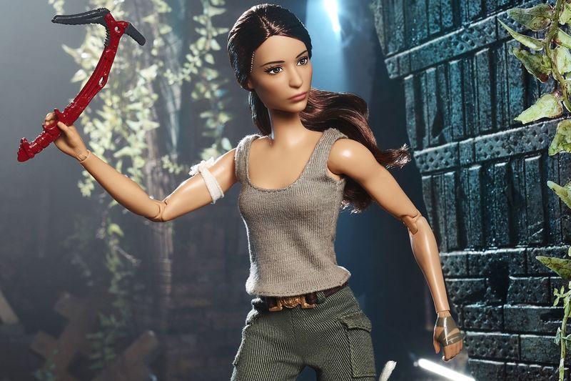 Action Movie Barbie Dolls