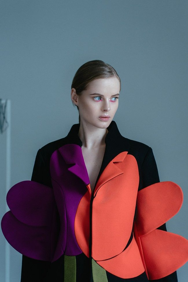 Sculptural Suit Collections