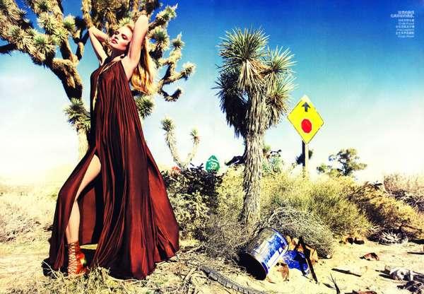 Desert Seductress Shoots