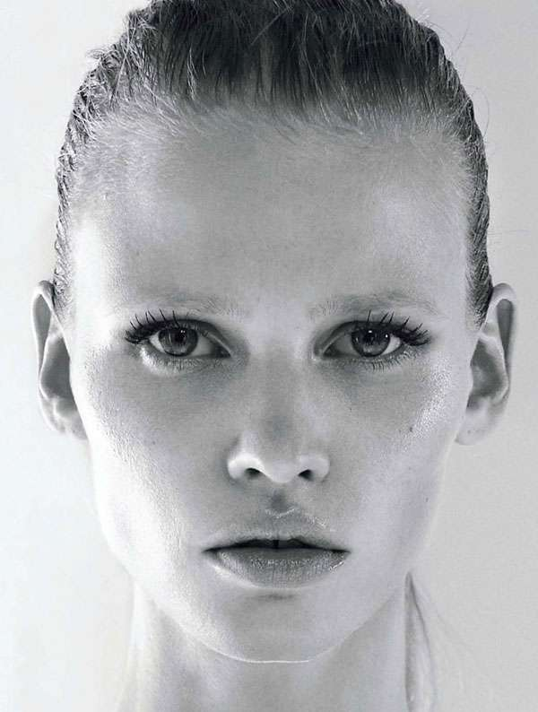 Stoic Strong Supermodel Editorials