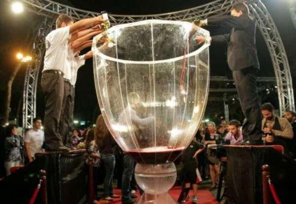 Gigantic Wine Goblets Largest Wine Glass