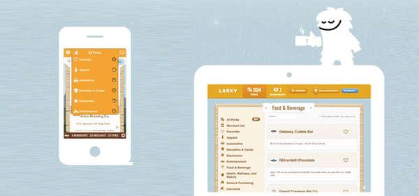 Consumer Reward-Tracking Apps