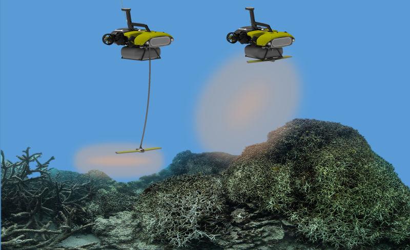 Coral Reef-Saving Robots